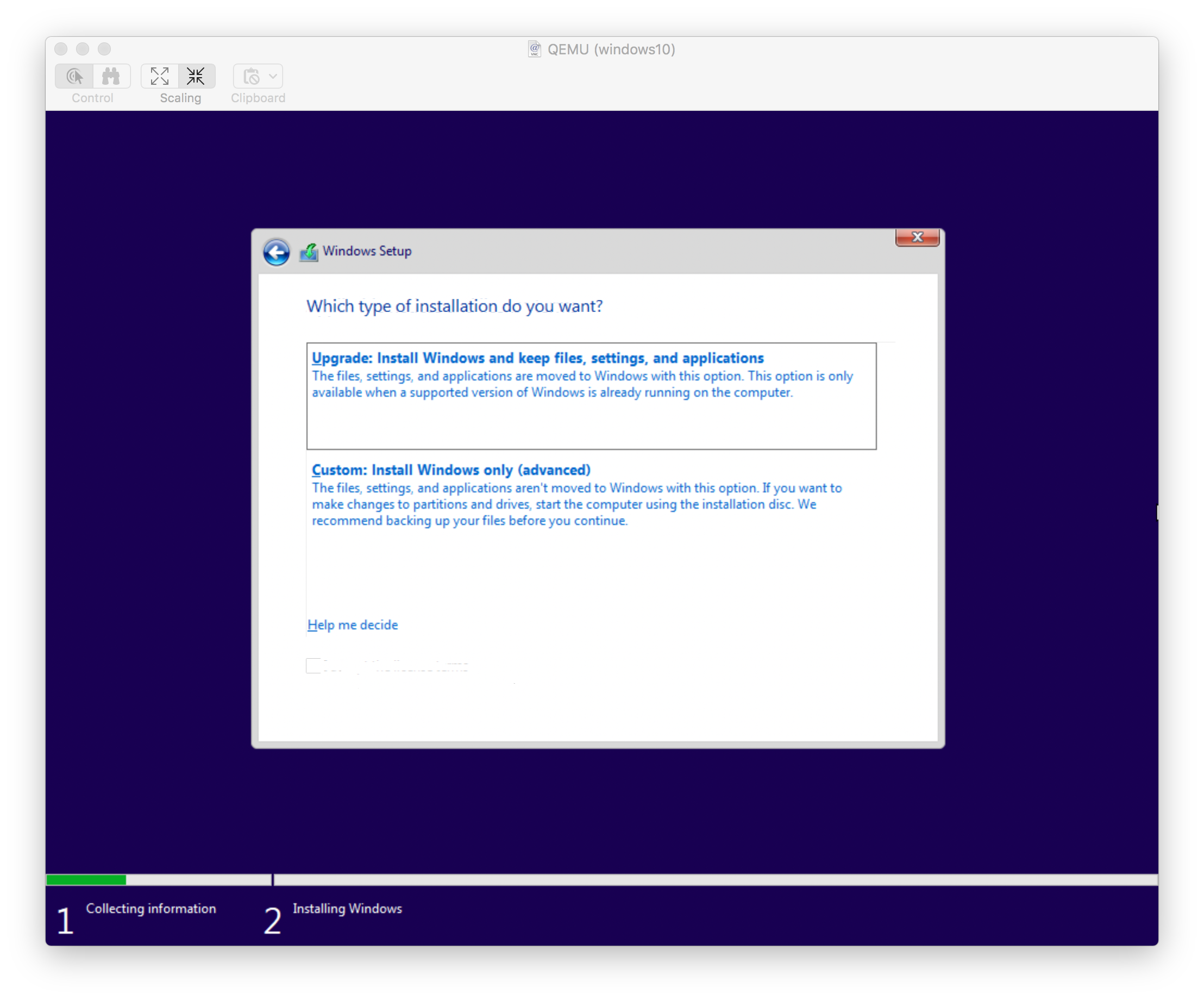 Installing Windows 10 in Qemu with KVM | Separate Wavelengths